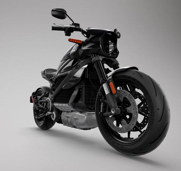 Представлен электрический мотоцикл LiveWire One