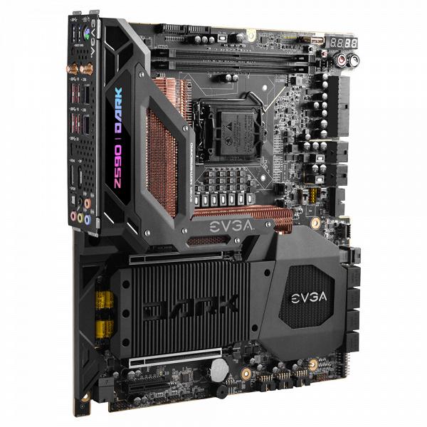 Представлена системная плата EVGA Z590 Dark