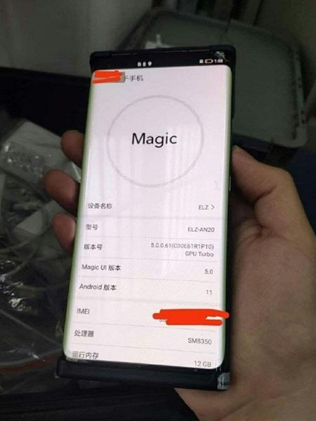 Honor Magic 3 показали вживую во включенном состоянии. Подтверждена Snapdragon 888, изогнутый экран и Android 11