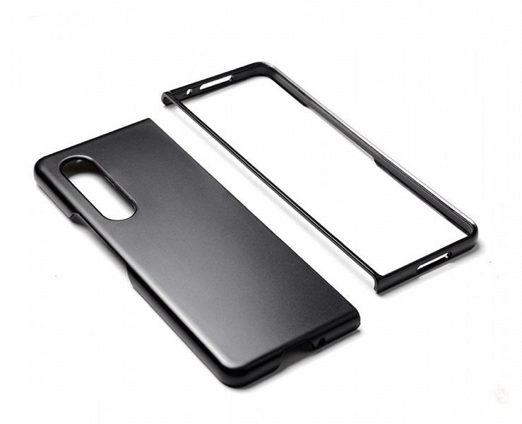 Дизайн Samsung Galaxy Z Fold3 подтверждён: опубликованы качественные изображения нестандартного защитного чехла