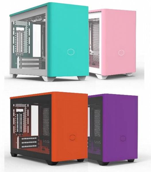 Корпуса Cooler Master NR200P будут доступны еще в четырех, очень неизбитых цветовых вариантах