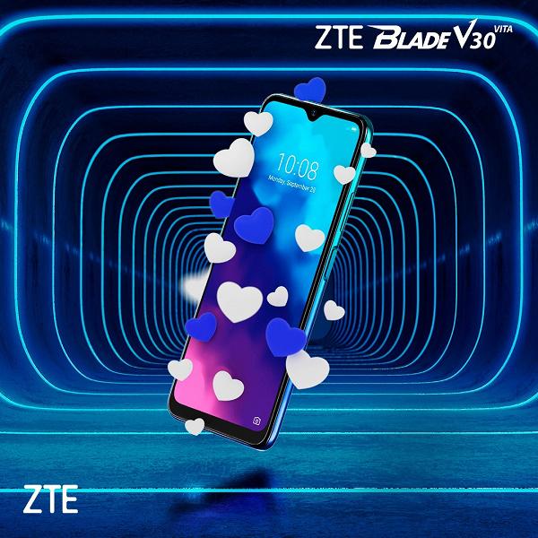 Огромный экран, ёмкая батарея, NFC и Android 11. Недорогой ZTE Blade V30 Vita скоро прибудет в Россию