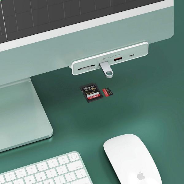 Hyper предлагает концентраторы USB, рассчитанные на подключение к Apple iMac M1