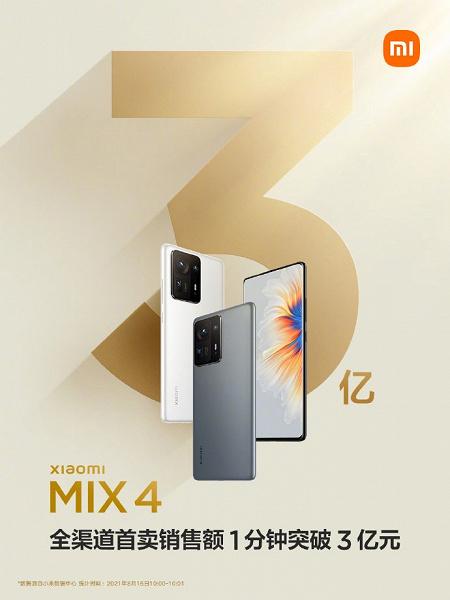 Вот это ажиотаж. Xiaomi Mi Mix 4 раскупили за секунды, 200000 планшетов Mi Pad 5 раскупили за 5 минут