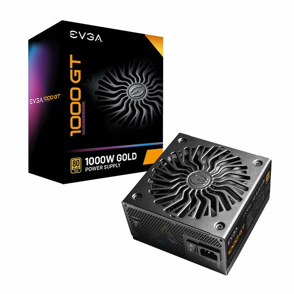 Ассортимент блоков питания EVGA пополнила модель SuperNOVA 1000 GT