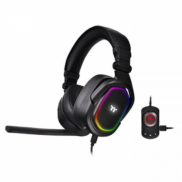 Представлена игровая гарнитура Thermaltake Argent H5 RGB 7.1 Surround Gaming Headset