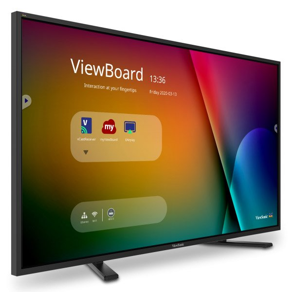 ViewBoard IFP4320 interactive touchscreen display is well-suited for collaboration in hybrid work environments, ViewSonic