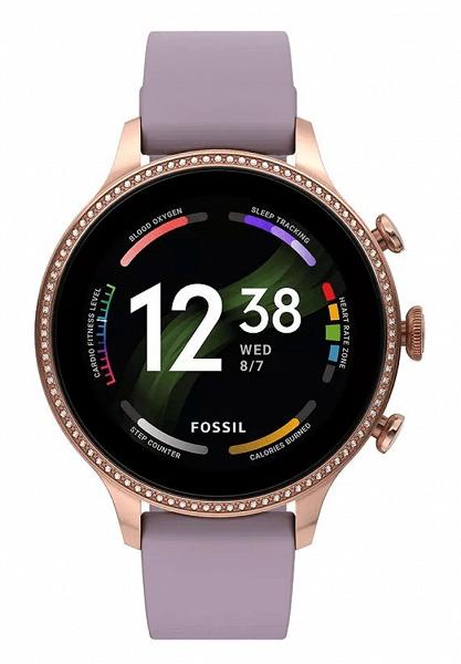 Круглый экран OLED, водозащита, датчик ЧСС, пульсоксиметр, GPS, водозащита и быстрая зарядка. Умные часы Fossil Gen 6 выходят 30 августа
