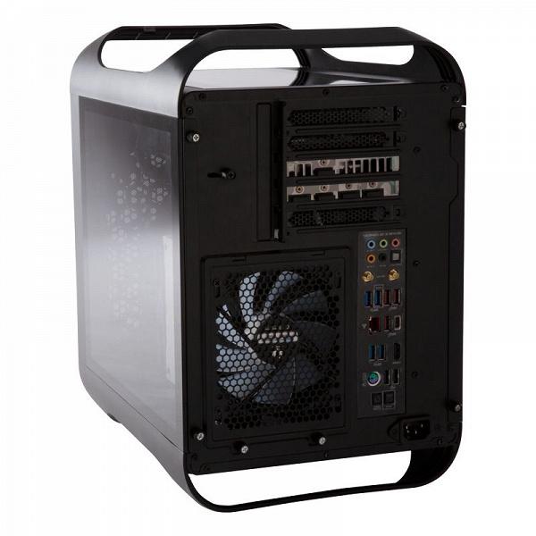 Корпус BitFenix Prodigy M ARGB 2022 рассчитан на плату типоразмера mini-ITX или microATX