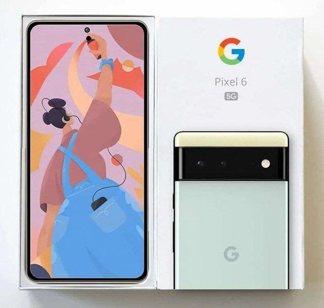 Google Pixel 6 сфотографировали в коробке