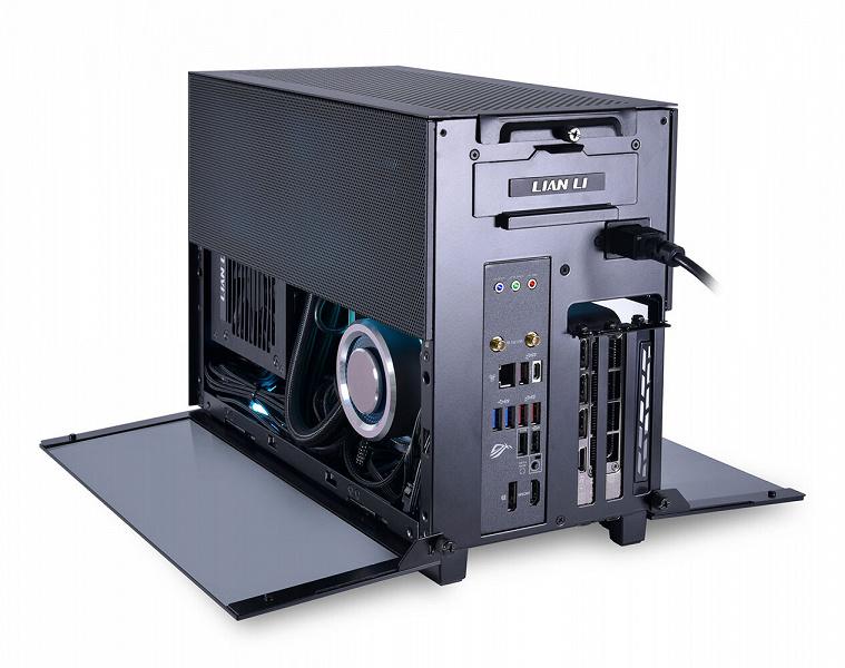 Корпус Lian Li Q58 рассчитан на платы типоразмера mini-ITX