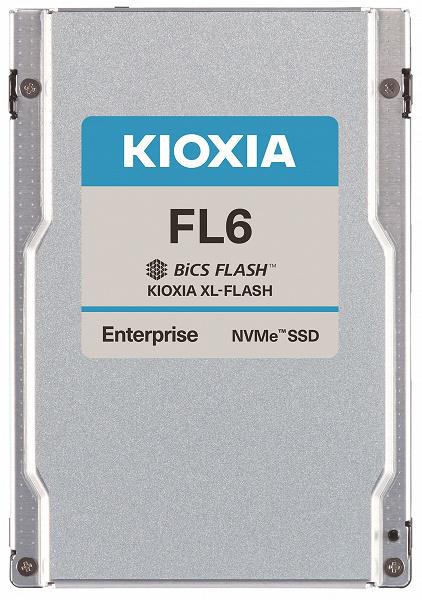 Компания Kioxia представила твердотельные накопители FL6 с интерфейсом PCIe 4.0