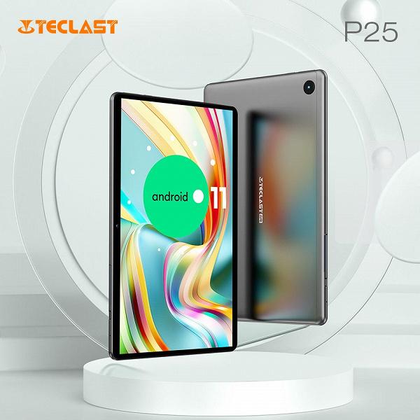 10-дюймовый планшет с узкими рамками и стереозвуком за 90 долларов. Teclast P25 уже доступен на AliExpress