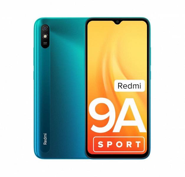 Современный смартфон Redmi за 95 долларов с большим аккумулятором и MIUI 12. Представлен смартфон Redmi 9A Sport