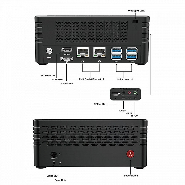 Основой мини-ПК Minisforum EliteMini X500 служит APU AMD Ryzen 7 5700G