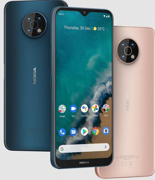 Экран 6,82 дюйма, 5000 мА·ч, 48 Мп, Snapdragon 480, NFC 5G за 270 долларов. Представлен Nokia G50 – самый доступный смартфон бренда с поддержкой сетей пятого поколения