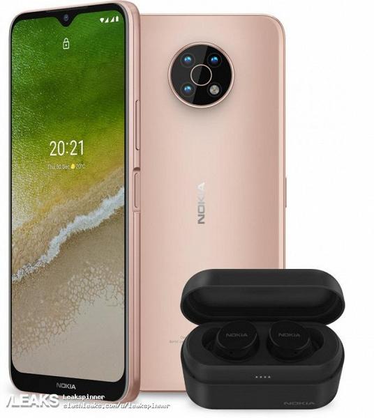 Самый дешёвый смартфон Nokia с 5G. Качественные изображения Nokia G50 со всех сторон