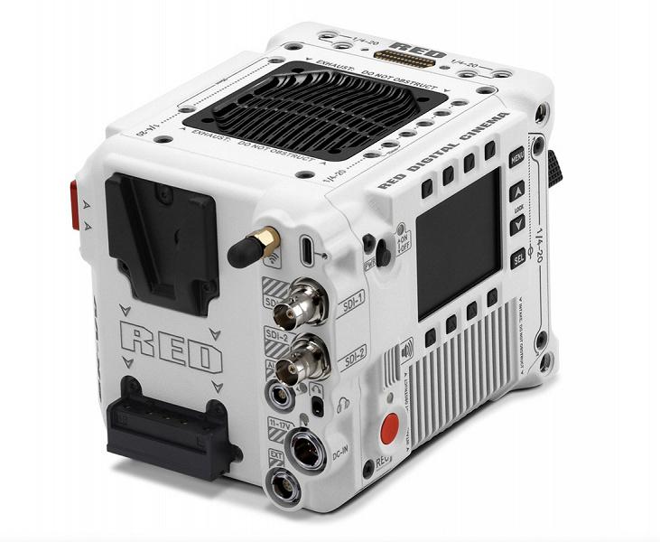 Камера RED V-Raptor ST способна снимать видео 8K в 16-битном формате RAW с частотой 120 к/с