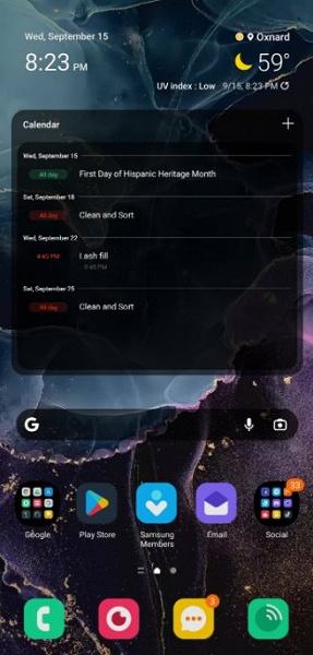 Неожиданное новшество оболочки Samsung One UI 4.0. Теперь можно использовать сторонние наборы иконок