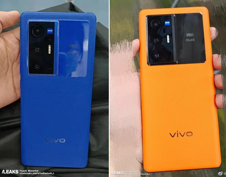 Snapdragon 888, камера Zeiss, AMOLED, 65 Вт и собственный процессор обработки изображений. Топовый флагман Vivo X70 Pro+ показали вживую перед анонсом