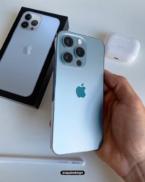 iPhone 13 Pro в новом цвете впервые показали на живом фото