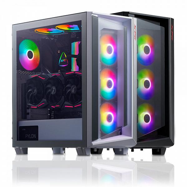В компьютерном корпусе XPG Cruiser помещаются платы типоразмера до E-ATX
