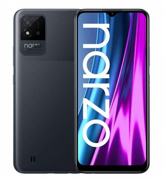 Realme Narzo 50i – смартфон за 100 долларов с аккумулятором емкостью 5000 мА·ч и Android 11