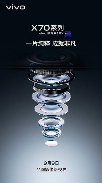 Лучший в отрасли экран OLED Samsung разрешением 2K, 50-мегапиксельная камера с осевой стабилизацией, Snapdragon 888 Plus и очень быстрая беспроводная зарядка. Это Vivo X70 Pro+