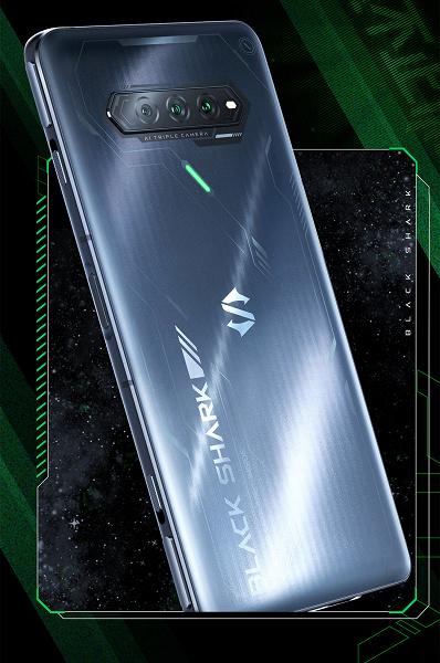 Нанолитография, магнитные боковые клавиши, Snapdragon 888+, 144 Гц, 120 Вт и тройная камера. Смартфон Black Shark 4S показали целиком