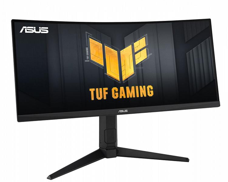 Основой игрового монитора Asus TUF Gaming VG30VQL1A служит вогнутая 30-дюймовая панель