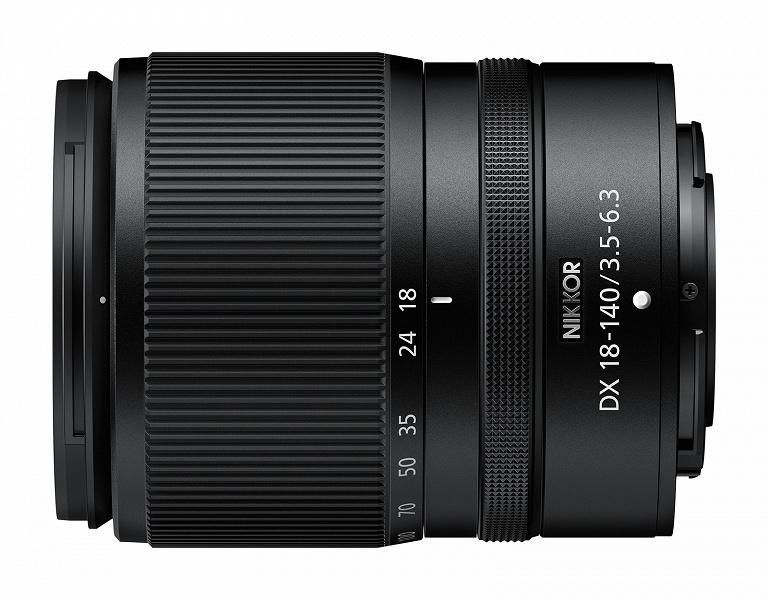 Представлен объектив Nikkor Z DX 18-140mm f/3.5-6.3 VR