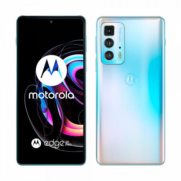 OLED, 144 Гц, 108 Мп, первый перископный модуль. Стартовали продажи флагманского Motorola Edge 20 Pro в России