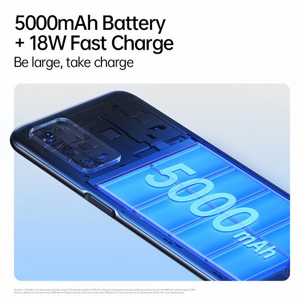 5000 мА·ч и 50 Мп за 210 долларов. Представлен Oppo A55 4G