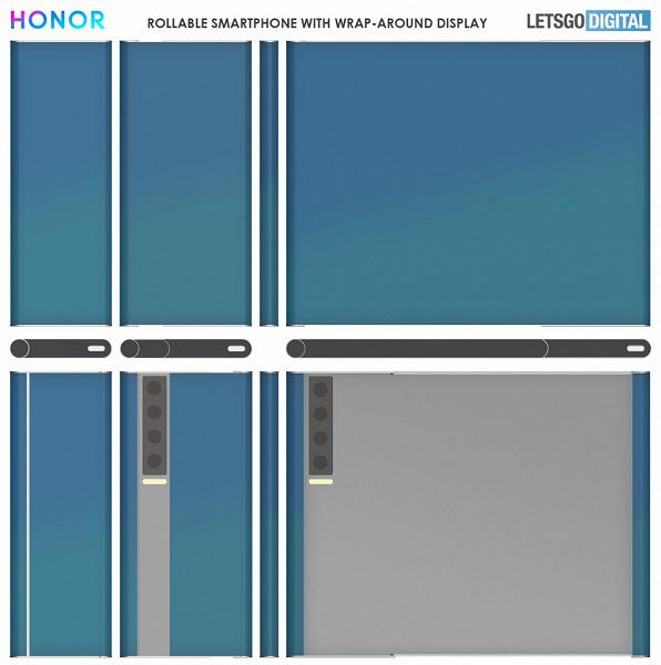 Honor придумала смартфон с 11-дюймовым экраном, который с легкостью уместится в руке