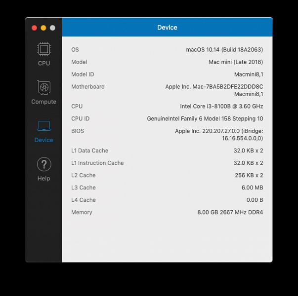 Обзор мини-ПК Apple Mac mini (Late 2018)