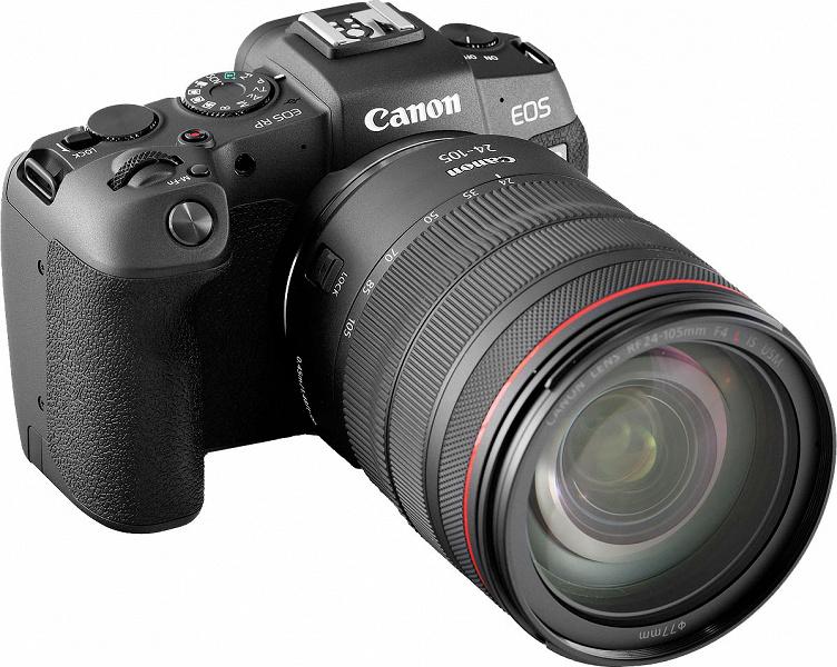 Обзор полнокадровой беззеркальной камеры Canon EOS RP