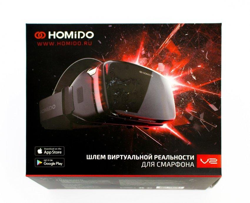 Обзор очков виртуальной реальности Homido V2 и Homido Grab