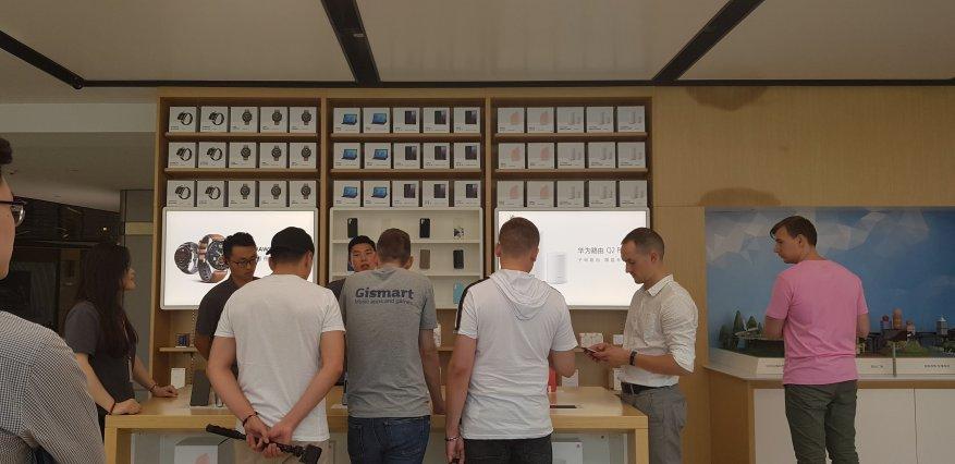كيفية تداول الهواتف الذكية في شنغهاي. قم بزيارة المتجر الرئيسي لشركة Huawei 23