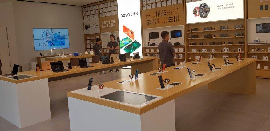 كيفية تداول الهواتف الذكية في شنغهاي. قم بزيارة المتجر الرئيسي لشركة Huawei 2