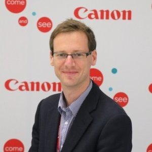John Maurice European Product Marketing Manager at Canon Europe Ltd.