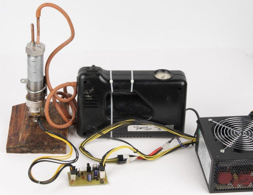 124Генератор тумана  схемы