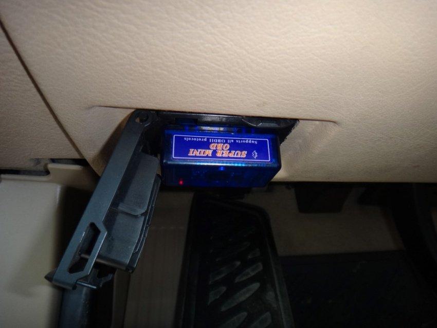 Устройство для считывания ошибок автомобиля через блютуз
