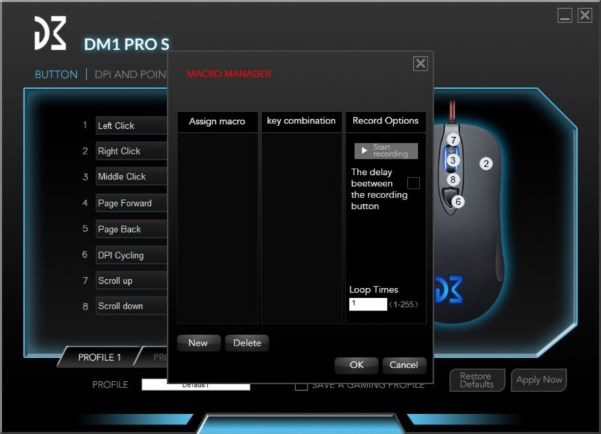 Обзор игровой мыши Dream Machines DM1 Pro S с сенсором
