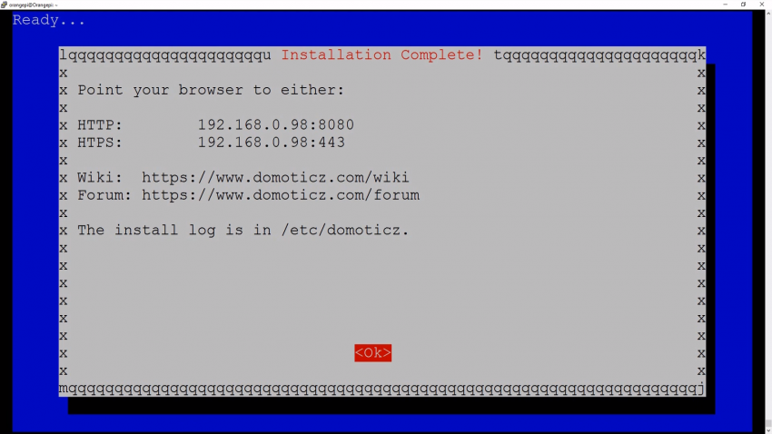 Orange Pi PC 2 - Установка Linux, Domoticz + ImperiHome