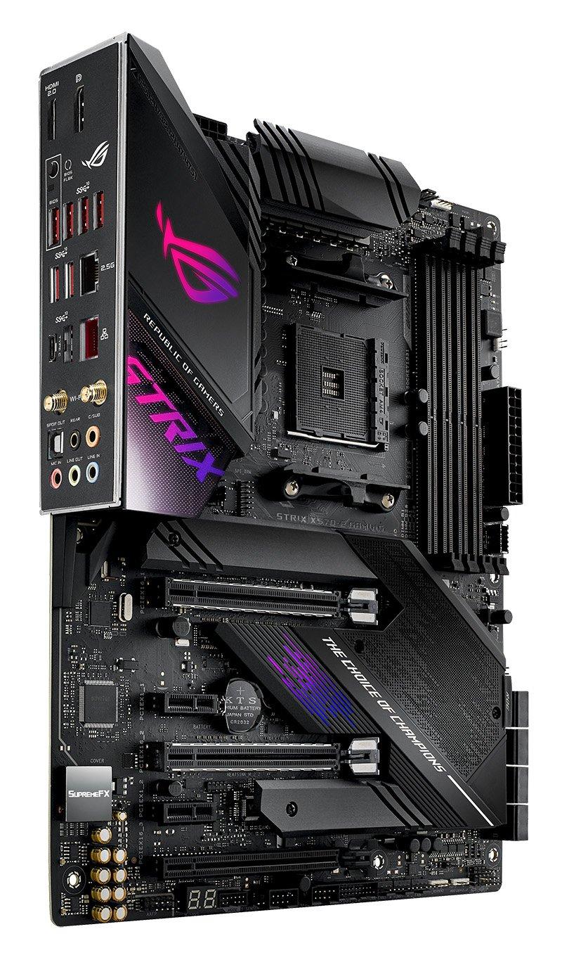 Asus представляет новые материнские платы на чипсете AMD X570