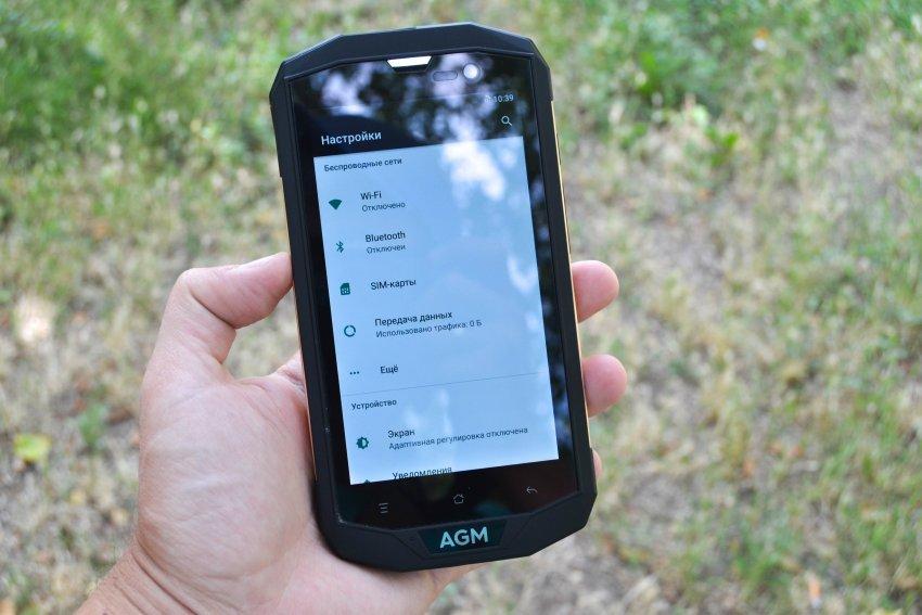 TomTop: Полный обзор AGM A8: брутальный монстрофон для безжалостного пользования