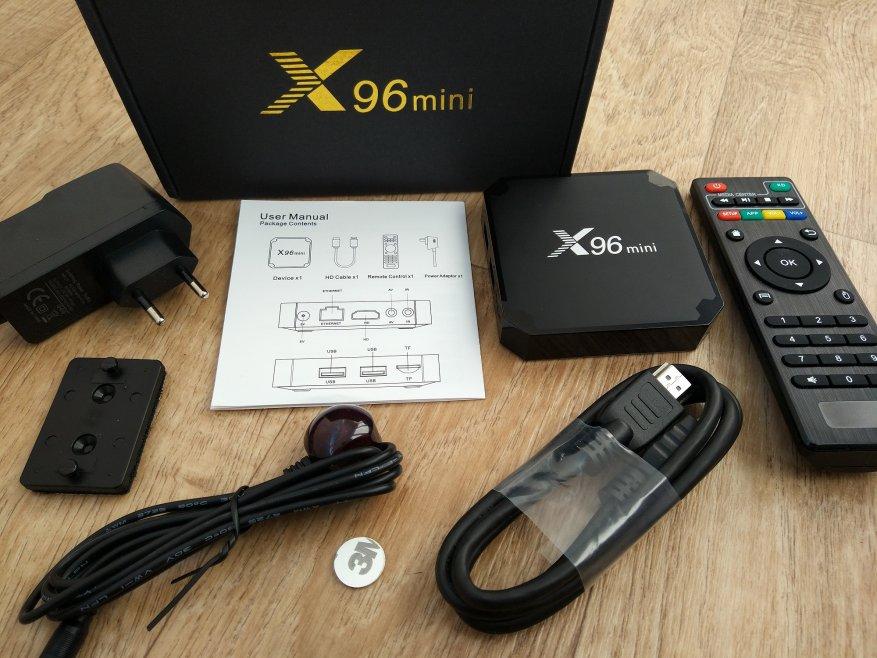 TV box X96 mini Amlogic S905W обзор сравнение с RK3328