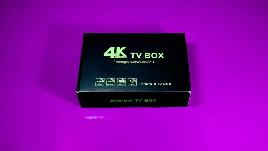 Valisen X10 - обзор бюджетного TV Box на Amlogic S905W
