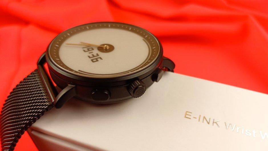 Магазины США: Gligo E-Ink: обзор гибридных часов с задатками интеллекта