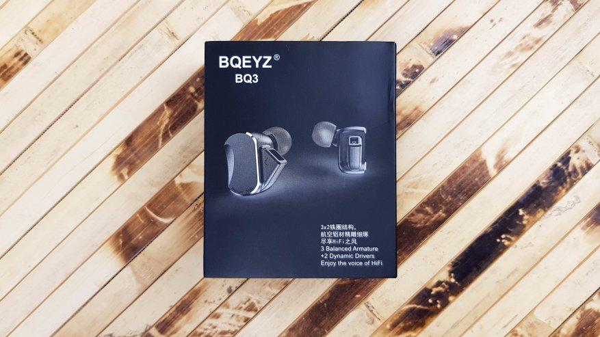 Магазины Китая: Гибридные 5-драйверные наушники BQEYZ BQ3: энергетика и объем